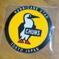 Sticker Round Booby Bird ステッカー ラウンドブービーバード シール