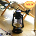 ランタン ハリケーンランタン DIETZ 78  デイツ78 黒GT L-13030 ブラック キャンプグッズ ソロキャンプ ランプ 照明 ライト アウトドアランタン アウトドア キャンプ ロースタイル バーベキュー 灯油ランプ 希少ギア 数量限定 ガレージブランド