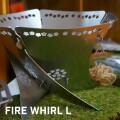焚火台 ファイヤーウィール 焚火台 FIRE WHIRL L 5枚組 アナキャン ANCAM ANC-011 焚き火 スタンド パーツ アウトドア キャンプ 西海岸 ソロキャンプ 外ご飯 焚火 バーベキュー 燻製 ガレージブランド