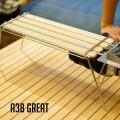 テーブル A38grate サーティエイトエクスプローラー 38explorer 41227276OD 41227389CB 多機能テーブル ウッドテーブル アウトドア ベランピング キャンプ 西海岸 バーベキュー ガレージブランド