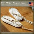 USA.Military HOSPITAL キャンバススリッパ デッドストック