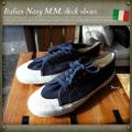 イタリア海軍M.M.デッキシューズ DEADSTOCK