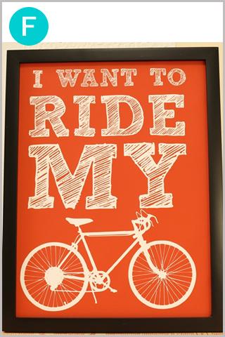 自転車ポスター/