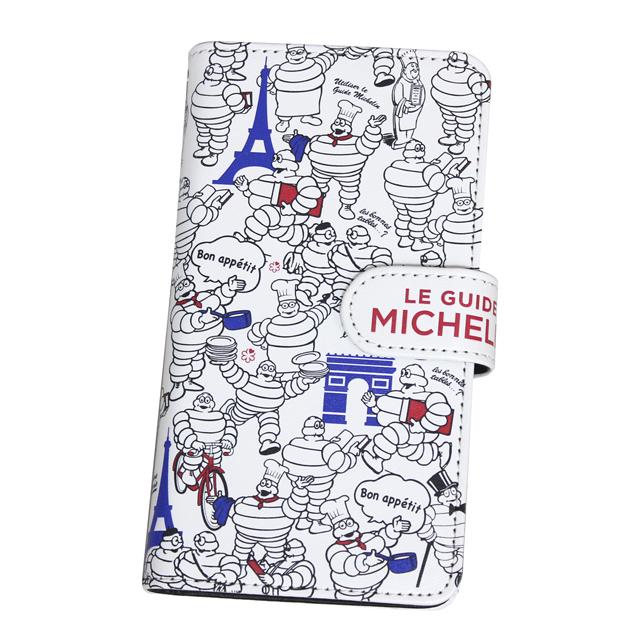 スマホケース手帳型 スマートフォンケース スマホケース ミシュラン シュラン スタンダードビブ PARIS/Chef
