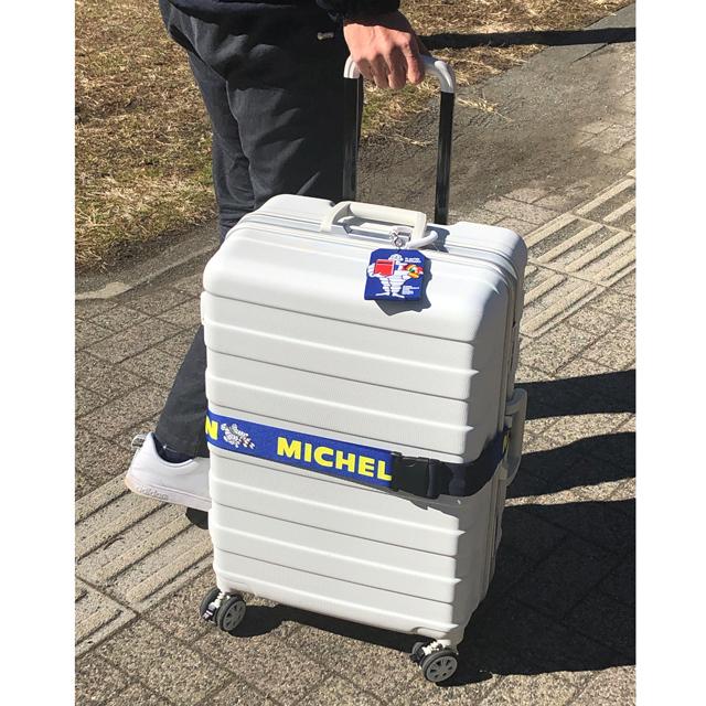 スーツケースベルト ラゲッジベルト スーツケースMICHELIN ミシュラン かわいい