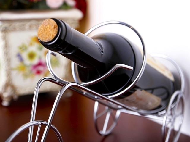 ワインラック おしゃれ/ワイン ボトル ラック 収納/自転車/モチーフ/シルバー/ディスプレイ/家庭用/レストラン/ワイングッズ/アルミ