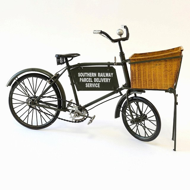 自転車ミニチュア 自転車模型 ミニチュア自転車雑貨 アンティーク調 レトロ 昭和スタイル ブリキ自転車 自転車モチーフ インテリア 家具