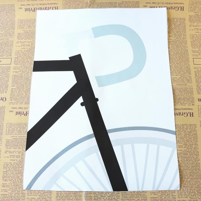 ポスター北欧アートポスターデザイン インテリア おしゃれ シンプル モダン ウォールデコ DIY 家具 自転車 自転車柄 自転車モチーフ