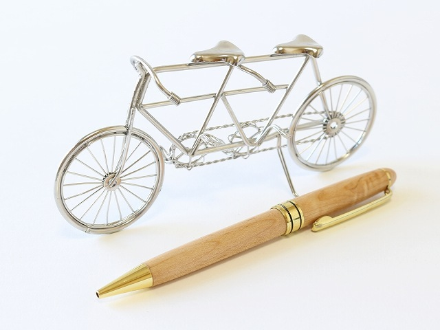 タンデム 自転車 ミニチュア 雑貨 自転車模型 インテリア小物 置物 オブジェ アンティーク シンプル おしゃれ かわいい 店舗 インテリア