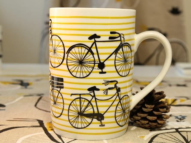Bicicletta マグ マグカップ ショートマグ キッチン雑貨  自転車雑貨 自転車モチーフ クリスマス ギフト