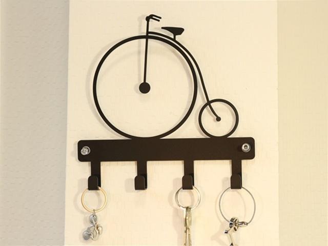 アンティーク雑貨 アンティーク家具 ハンガー ウォール壁掛け おしゃれ レトロ zakka  自転車モチーフ、インテリア 雑貨 キー壁掛け