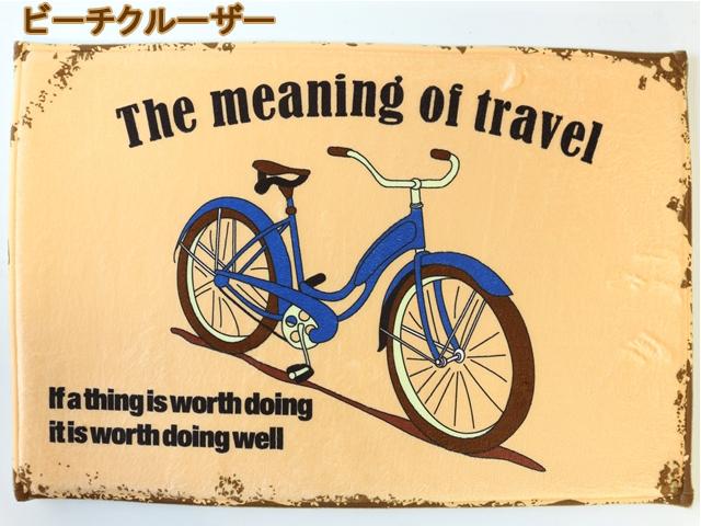 玄関マット,玄関マット 室内,玄関マット 北欧,玄関マット 自転車,玄関マット 自転車モチーフ,玄関マット自転車 柄 雑貨 自転車柄