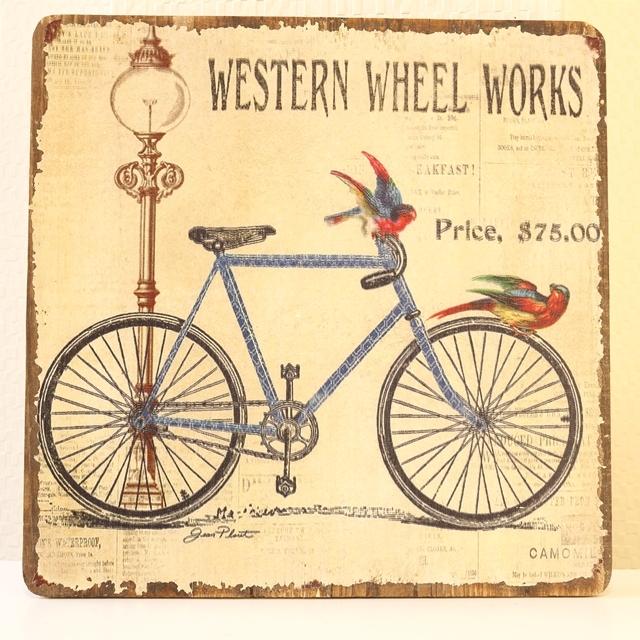 自転車,雑貨,おしゃれ,自転車柄,自転車モチーフ,インテリア, ポスター,アンティーク,ロードバイク,アートフレーム,ポスター 北欧
