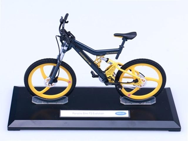 MTB 自転車 模型 ポルシェ/1/10 WELLY Porsche Bike FS Evolution ジャーマンコレクション/レプリカ ミニチュア