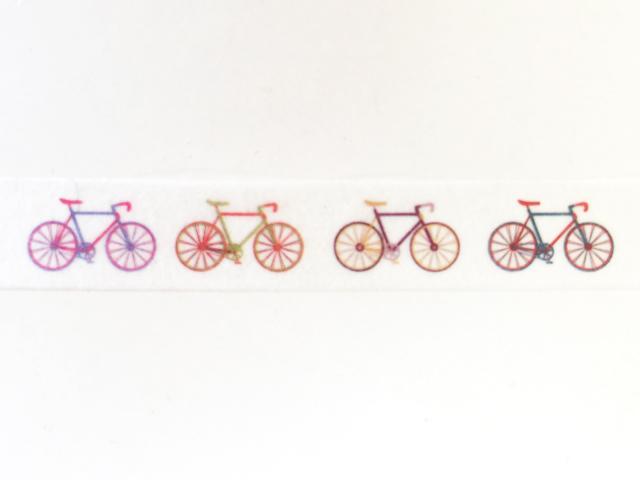 マステ/自転車/マスキングテープ/自転車柄/masking tape/文房具 手帳/かわいい