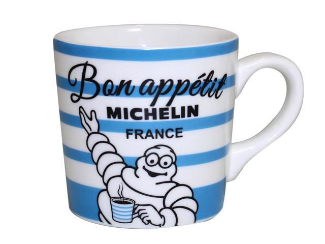 マグカップ ミシュラン/MICHELIN/コーヒーカップ/北欧/自転車/ストライプ デザイン/おしゃれ/誕生日プレゼント/ギフト