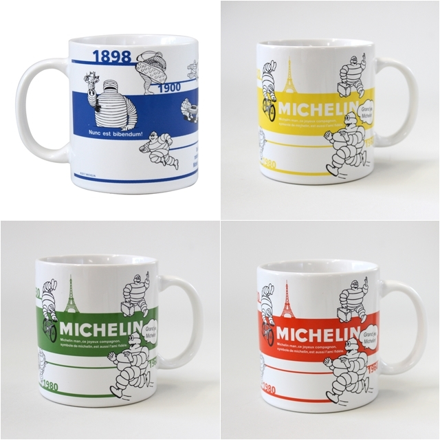 マグカップ ブランド ペア 人気 おしゃれ ミシュラン コーヒーカップ 北欧 自転車 ミシュランマン 可愛い 自転車柄 モチーフ雑貨 誕生日