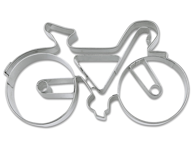 自転車 クッキー型,クッキー抜き型,クッキーカッター,ステンレス,ドイツ,かわいい,自転車モチーフ,雑貨,Stadter(スタッダー)