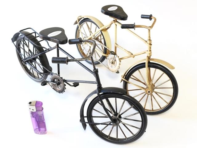 自転車ミニチュア,模型,ミニチュア雑貨,ミニチュアガーデン,アンティーク,レトロ,ブリキ自転車,かわいい,おしゃれ,自転車モチーフ,北欧