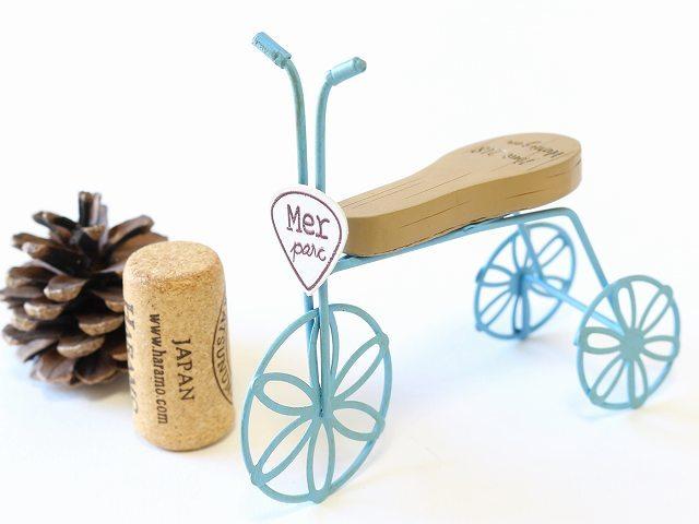 パステルフルールベル 三輪車 自転車 オリジナル ガーデニング 園芸 飾り付け かわいい ミニチュア 雑貨 インテリア 北欧