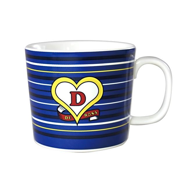 マグカップ デローザ DeRosa クラシカルロゴ コーヒー  イタリア 自転車ブランド おしゃれ ロードバイク 誕生日プレゼント ギフト
