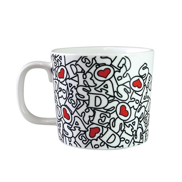 マグカップ デローザ DeRosa REVO柄 コーヒーカップ イタリア 自転車ブランド おしゃれ ロードバイク 誕生日プレゼント ギフト