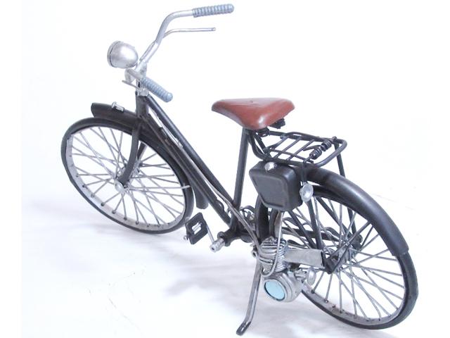 おしゃれ 自転車ミニチュア 模型 自転車モチーフ アンティーク調 ディスプレイ 自転車柄 贈り物 レトロ 置物 インテリア ビンテージ 店舗