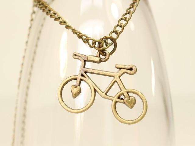 自転車雑貨 自転車チャーム ネクッレス ネックレス  レディース メンズ ネックレス ギフト プレゼント