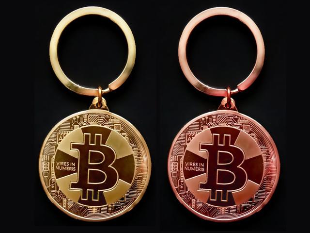 ビットコイン キーリング BitCoin 仮想通貨 キーホルダー レプリカ キーチェーン 自転車キーホルダー かぎ かわいい アクセサリー
