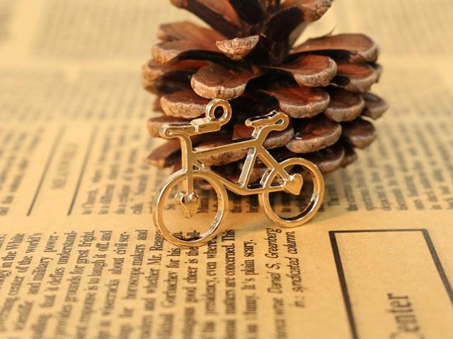 自転車雑貨 自転車チャーム ネクッレス