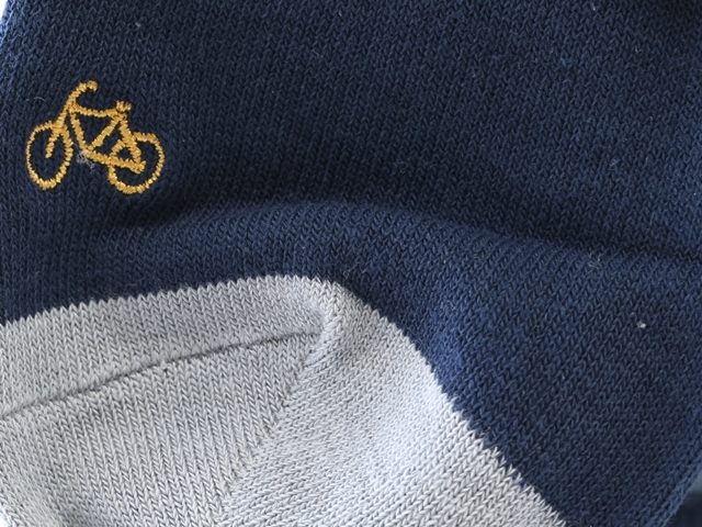 ソックス メンズ プレゼント,靴下 クール丈,おしゃれ,刺繍,ブランド,コーデ,かわいい,Bicycle,自転車柄,自転車,サイクリング