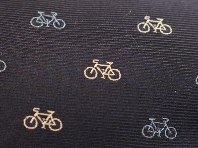 自転車,おしゃれ,自転車ネクタイ,自転車柄モチーフネクタイ,自転車柄,プレゼント,高品質西陣織ネクタイ,京都・西陣織ネクタイ,メンズ
