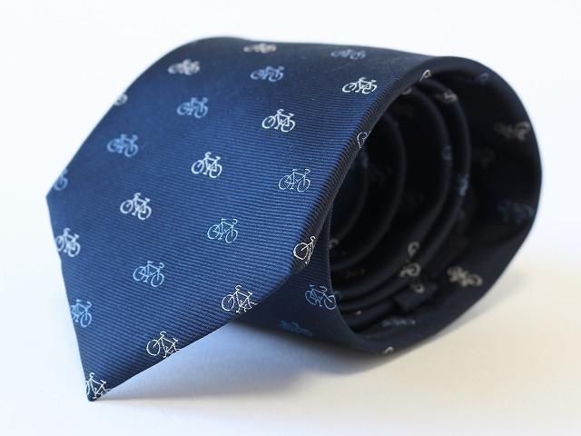 自転車ネクタイ 西陣織 ネクタイ 自転車 ロードバイク メンズ サイクル 自転車柄 自転車好き 自転車モチーフ プレゼント ギフト
