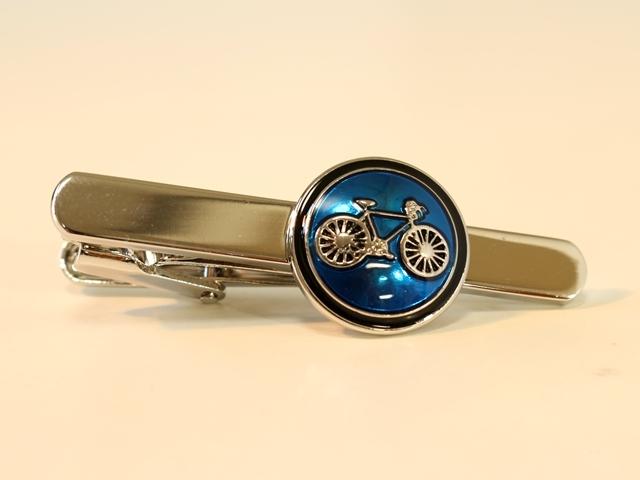 ネクタイピン プレゼント,メンズ,シンプル,ユニーク,父の日,おしゃれ,自転車柄,モチーフ,自転車好き,自転車ネクタイピン,人気,おススメ