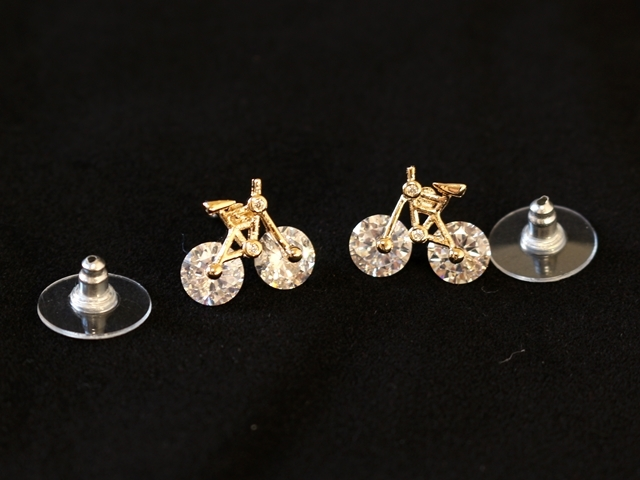 ピアス レディース,ピアス メンズ,ピアス 自転車,ピアス おしゃれ,ピアス かわいい,ピアス 自転車モチーフ,ギフト,プレゼント,自転車