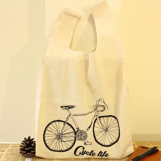 トートバッグ/トート/ミニマルシェバッグ バイシクル/MIMABABI/自転車/おしゃれ/ロードバイク/メンズ/ レディース/かわいい 雑貨