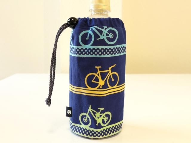 自転車/おしゃれ/自転車柄/和柄/雑貨/ロードバイク/メンズ/自転車モチーフ/プレゼント/気音間(kenema)ペットボトル入れ/日本製
