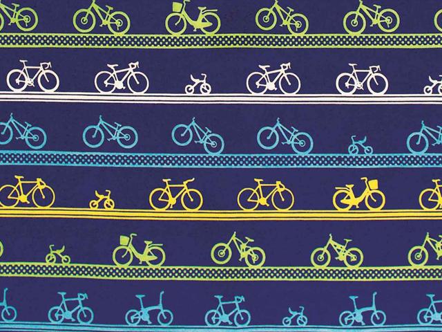 自転車/おしゃれ/自転車柄/和柄/雑貨/メンズ/自転車モチーフ/プレゼント/気音間(kenema)手ぬぐい/宮本/ガーゼハンカチ/日本製