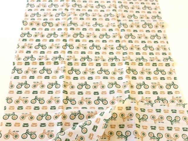 自転車/おしゃれ/自転車柄/和柄/雑貨/ロードバイク/メンズ/自転車モチーフ/プレゼント/モチーフ/レトロ小紋/手ぬぐい/宮本 03557