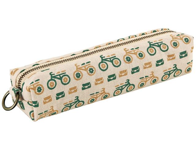 自転車/おしゃれ/自転車柄/和柄/雑貨/ロードバイク/メンズ/自転車モチーフ/プレゼント/モチーフ/レトロ小紋/手ぬぐいのペンケース/布