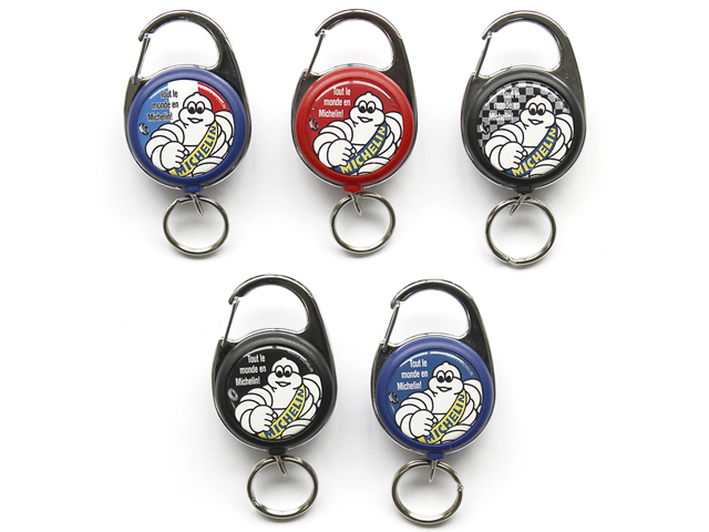 Michelin(ミシュラン)キーホルダー /自転車/ おしゃれ/メンズ/自転車柄/雑貨/ロードバイク/レディース/キーリング/リールメジャー
