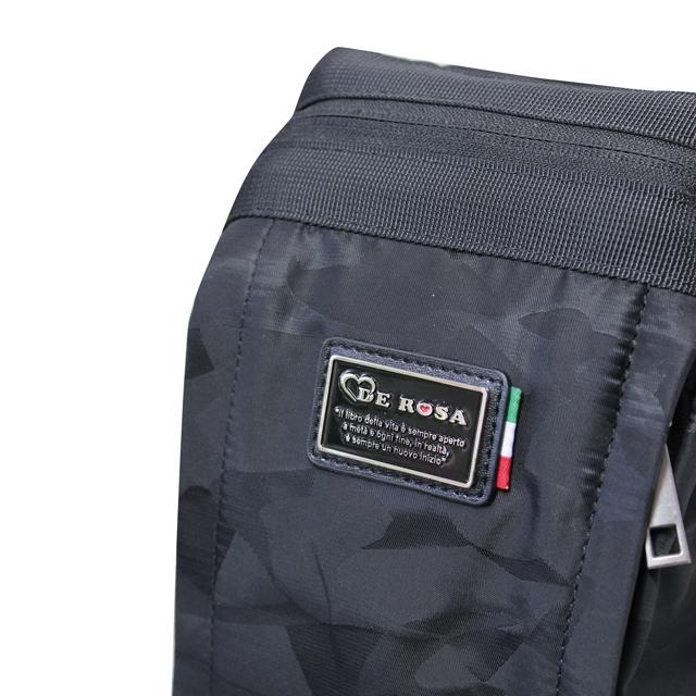 DEROSA イタリアンロードバイク デローザ ワンショルダーバッグ ボディバッグ iPad収納可能 メンズ 自転車 ハートモチーフ
