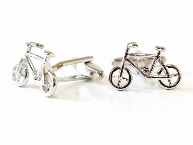 カフス メンズ カフスボタン 自転車 カフリンクス 結婚式 かわいい 自転車モチーフ 自転車 自転車柄 おしゃれ ギフト プレゼント 男子