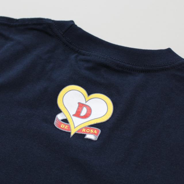 DEROSA(デローザ) クラシック ロゴ Tシャツ/デザイン T shirt/自転車/イタリア/ブランド/おしゃれ/ロード/メンズ