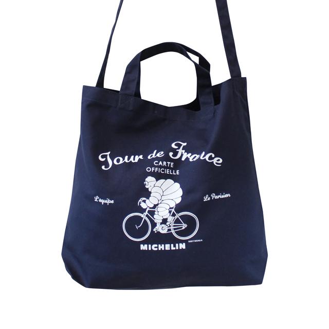 ミシュラン ビバンダム MICHELIN 自転車 キャンバス トートバッグ 2way トートショルダーバッグ おしゃれ  レディース メンズ