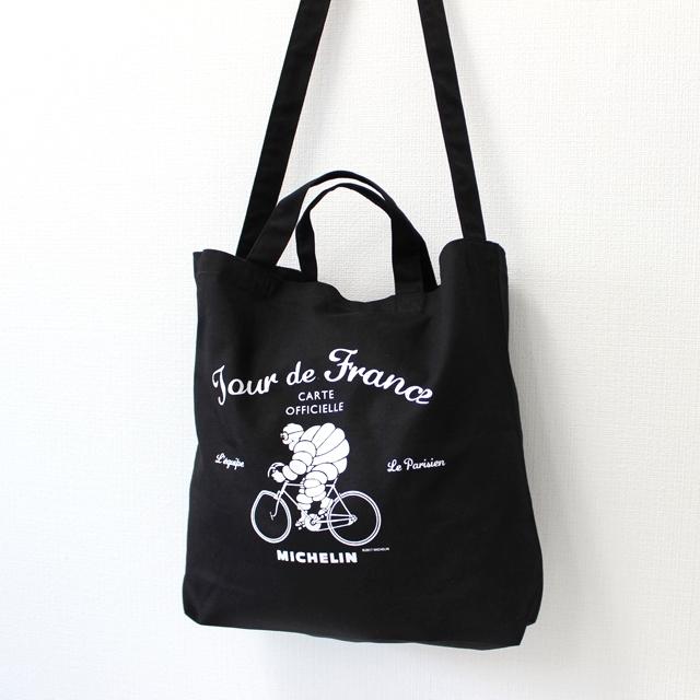 [ミシュラン] 2ウェイトートバッグ エコバッグ ビバンダム MICHELIN 自転車 キャンバス