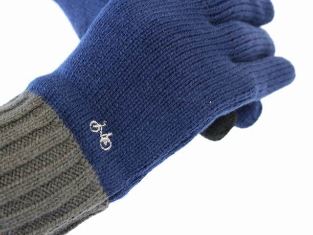 ニット手袋 スマホ手袋 スマホ対応 スマートフォン対応 タッチパネル対応 グローブ 手袋 かわいい 自転車 刺繍 メンズ レディース 北欧