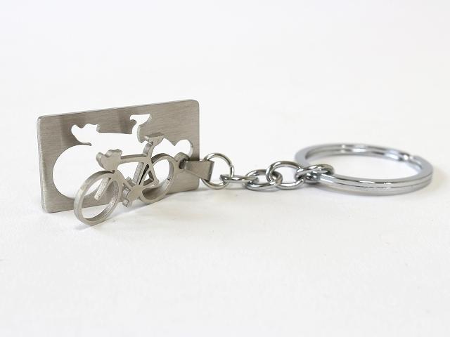 自転車 キーホルダー メンズ レディース プレゼント 贈り物 ギフト かわいい 自転車デザイン  トカゲ モチーフ おしゃれ 自転車雑貨