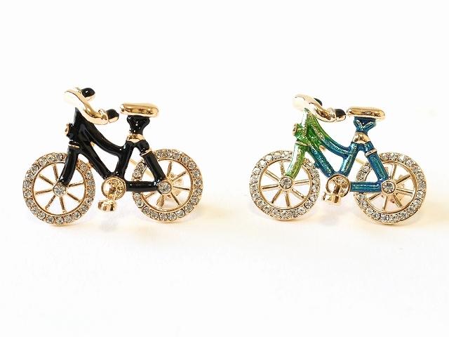 ブローチ 自転車モチーフ 父の日ギフト アンティーク 自転車 フォーマル 大判ストール レディース メンズ おしゃれ ピン かわいい