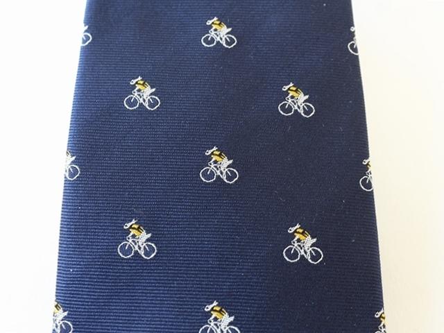 ネクタイ ブランド 京都西陣織 自転車ネクタイ 結婚式 ロードバイク 自転車柄 うさぎ 新作 自転車モチーフ サイクリスト 日本製 西陣